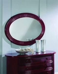 Miroir En Rotin : miroir ovale en rotin brin d 39 ouest ~ Nature-et-papiers.com Idées de Décoration