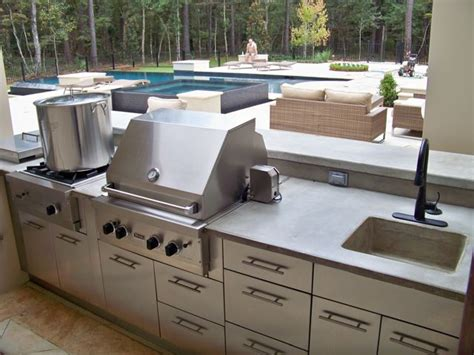 outdoor kitchen counters outdoor kitchens by crane concrete counters