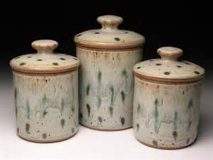 stoneware kitchen canisters pottery canister set wheel thrown pottery canisters ceramic