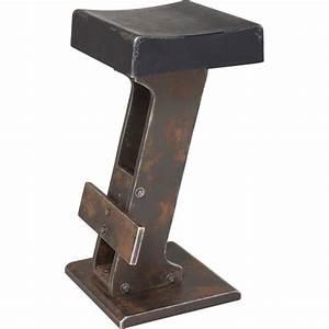 Tabouret De Bar Promo : tabouret de bar industriel noir key kare design ~ Melissatoandfro.com Idées de Décoration