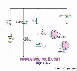 Timer Set For 30 Minutes By Transistor