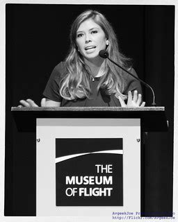 1 Year Ago at @MuseumOfFlight - Amber Smith | With a black