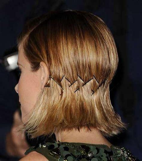 adorable short hairstyles  bobby pins short