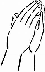 Hands Coloring Pages Praying God Pair Template Connect sketch template