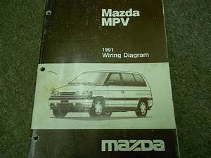 1997 Mazda Mpv Van Electrical Wiring Diagram Service Repair Shop Manual 97