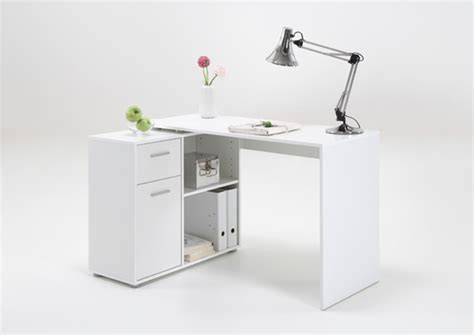 bureau informatique conforama bureau d 39 angle albrecht blanc