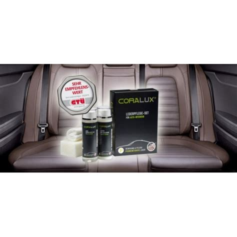 Automašīnas ādas sēdekļu kopšanas līdzeklis Coralux