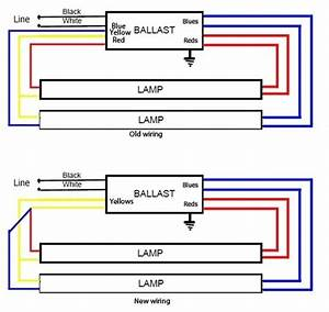 Ge Electronic Ballast T8 2 Lamp 48 Wiring Diagram