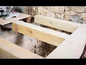 Realiser Un Plancher Bois : r aliser le solivage d 39 un plancher d 39 tage youtube ~ Premium-room.com Idées de Décoration