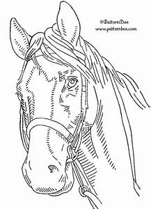 Horse Wood Burning Patterns Free - WoodWorking Projects