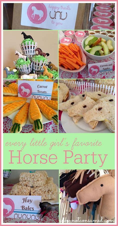 horse party  pinterest horse party favors horse