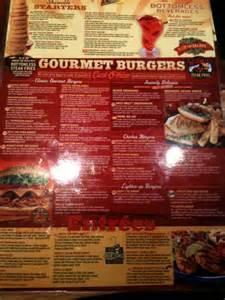 Red Robin Gourmet Burgers Menu