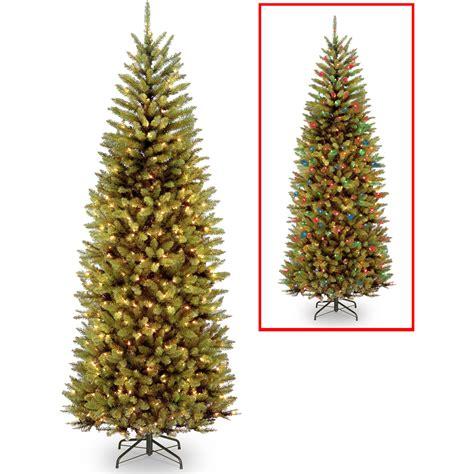 walmart in store pre lit slim tree on sale time pre lit 7 5 covington fir artificial tree clear lights walmart