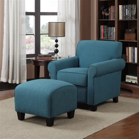 blue chair with ottoman living room beautiful living room accent chair ideas