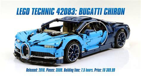 lego bugatti 42083 lego technic 42083 bugatti chiron in depth review parts list 4k