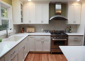 contemporary white kitchen contemporary kitchen With kitchen colors with white cabinets with asian candle holder