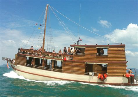 Thai Boat by Traditional Thai Boat Charter In Phuket Chilli Events