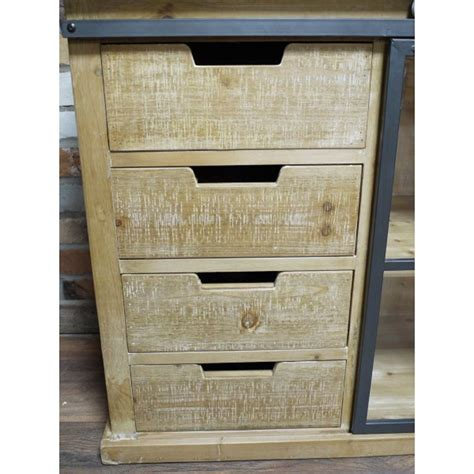 wooden industrial style cabinet windsor browne