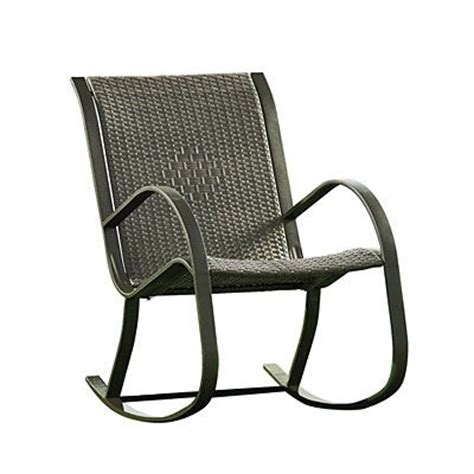 resin wicker rocker chair at big lots feathered nest