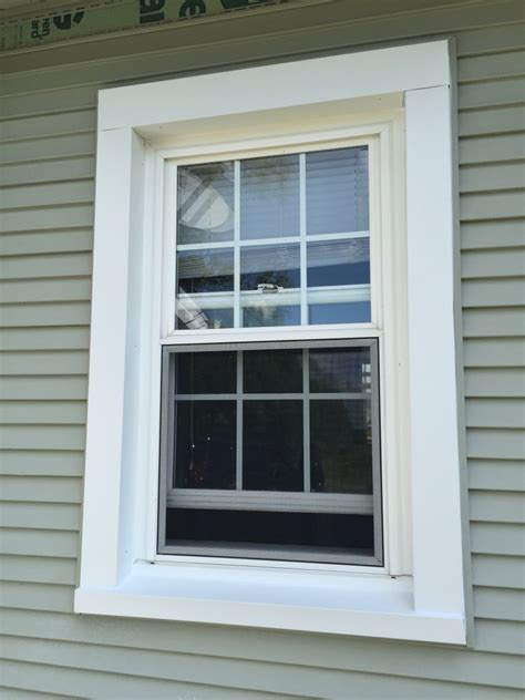 Window Sill Wrap by Trim Build Out Window Wrap Hicksville Ohio
