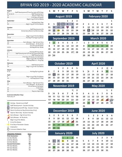school calendar testing fine artsathletics miscellaneous