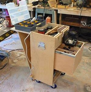 Wood Rolling Tool Chest Plans PDF Woodworking