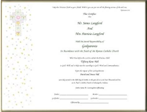 Godparent Certificate Template by Christian Quotes For Godparents Quotesgram