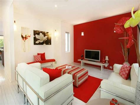 Red Living Room Idea From A Real Australian Home Living