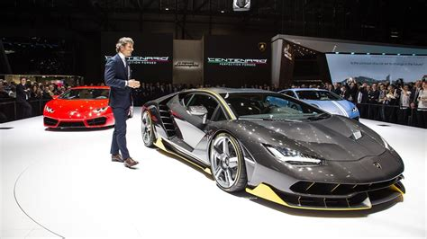 2016 Lamborghini Centenario 770 Hp Interior And Exterior