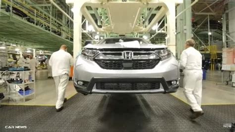Honda Cr V Production by 2017 Honda Cr V Production Has Started In Ohio