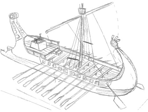 How To Draw A Ancient Boat by 1000 Images About Phoenician Ships On