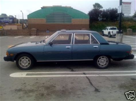 Peugeot 604 For Sale by Just A Car 1982 Peugeot 604 Ebay Find How Many