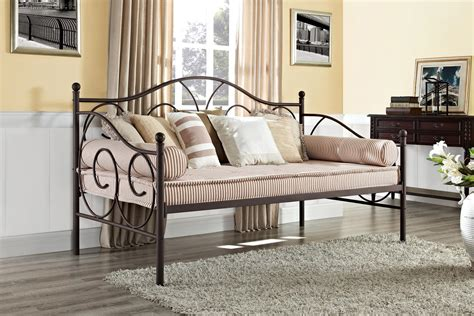 dhp furniture victoria metal daybed