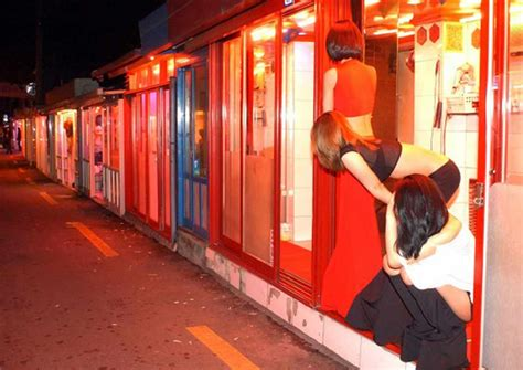 koreas infamous red light zone  fade  history asia