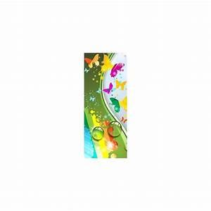 Papier Peint Sticker : papier peint porte enfant papillons design 1737 stickers ~ Premium-room.com Idées de Décoration