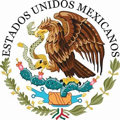 Mexico Government Federal Seal Mexican Mexicano Los