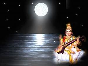 jai maa saraswati hd wallpaper