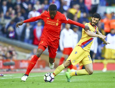 Liverpool v Crystal Palace nedeľa 23. apríla 2017 zápasová ...