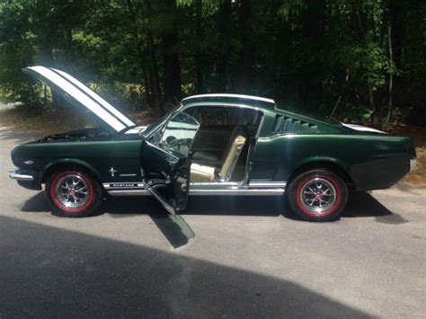 1965 Ford Mustang (dynasty Green