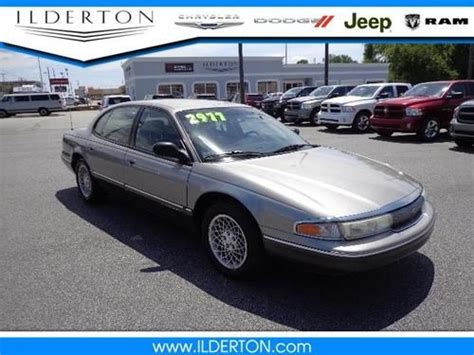 how do i learn about cars 1994 chrysler new yorker seat position control sell used 1994 chrysler new yorker in high point north carolina united states for us 2 977 00
