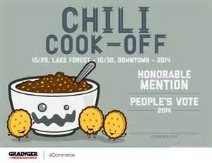 Chili Cook-Off Certificate