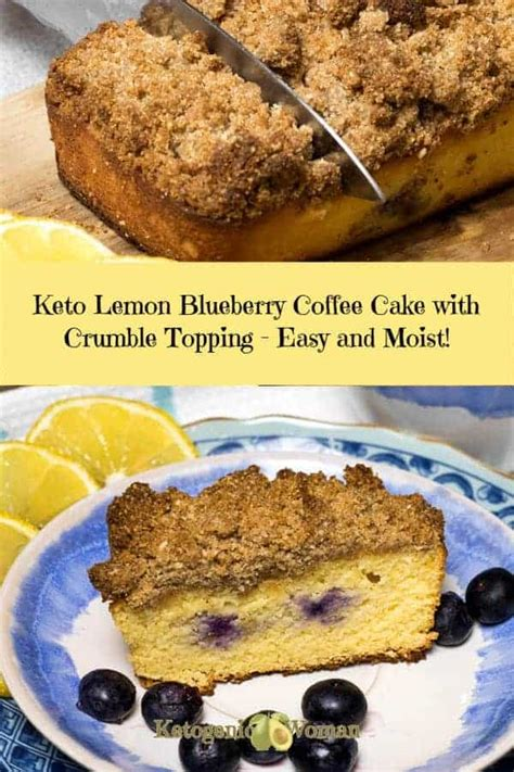 If you've made this recipe and would like to share it with your friends, please link back to blueberry crumb coffee cake with lemon glaze on blue jean. Keto Lemon Blueberry Coffee Cake - Hot Divas Recipes