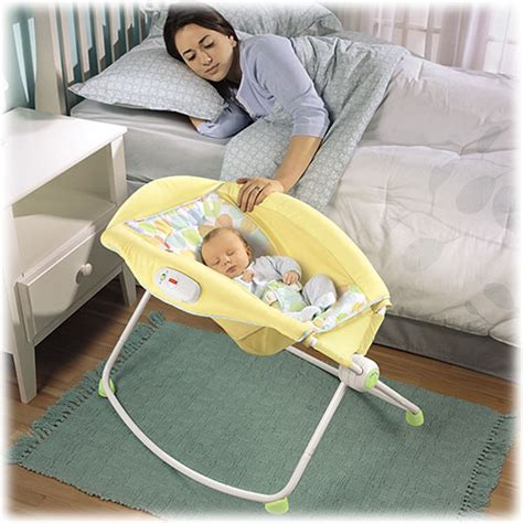 Fisher Price Rock N Roll Sleeper - 2017 best bassinets for newborns baby gear centre