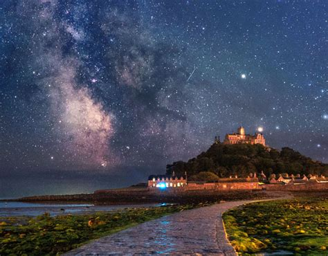 Gorgeous Capture The Milky Way Over Saint Michael