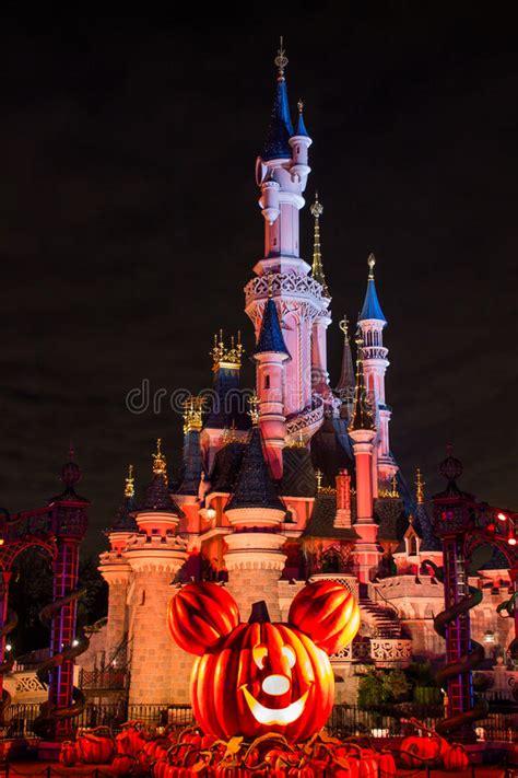 Château De Disneyland Paris Pendant La Célébration De