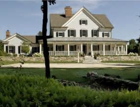 country house plans with wrap around porch modern farmhouse style in the berkshire woods hooked on