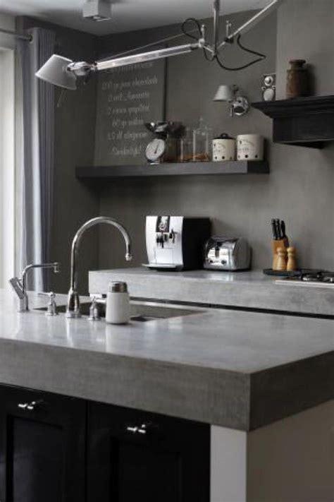 plan de travail cuisine ophrey com cuisine blanche plan de travail gris