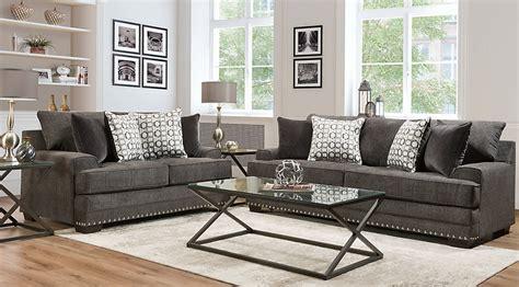 Bertille Gray Pc Living Room-living Room Sets (gray