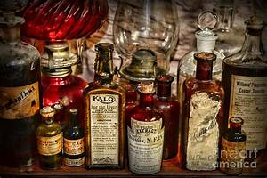 Those Old Apothecary Bottles Photograph by Paul Ward