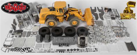rcwd bulldozer pala meccanica full metal idraulica